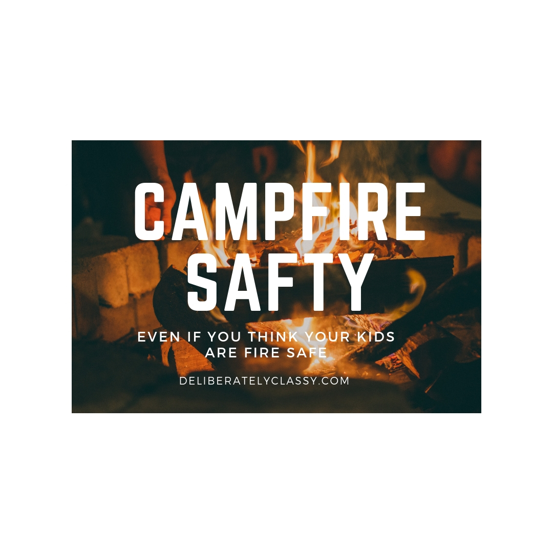 fire safty even when you think your kids are fire safe